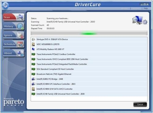 DriverCure Scan