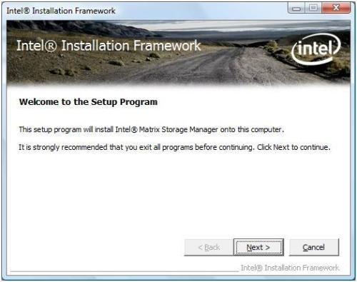 Driver Install Options