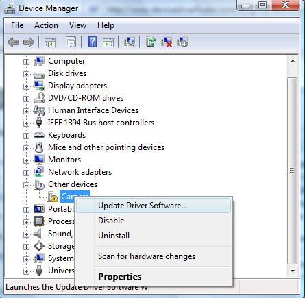 Mass Storage Controller Driver For Windows 7 Gateway Laptop